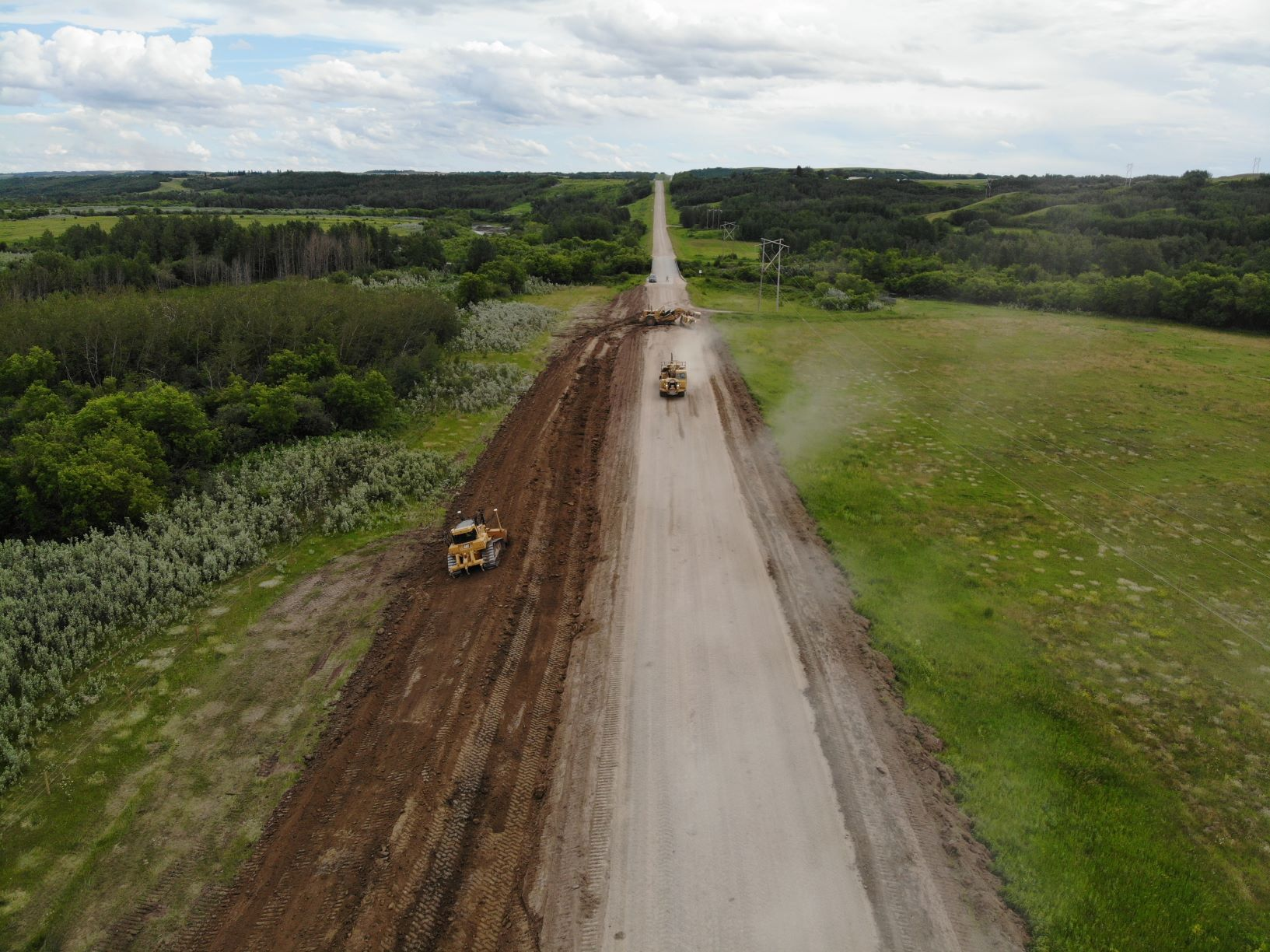 Precision Contractors | Earthworks | About | 684 scrapers