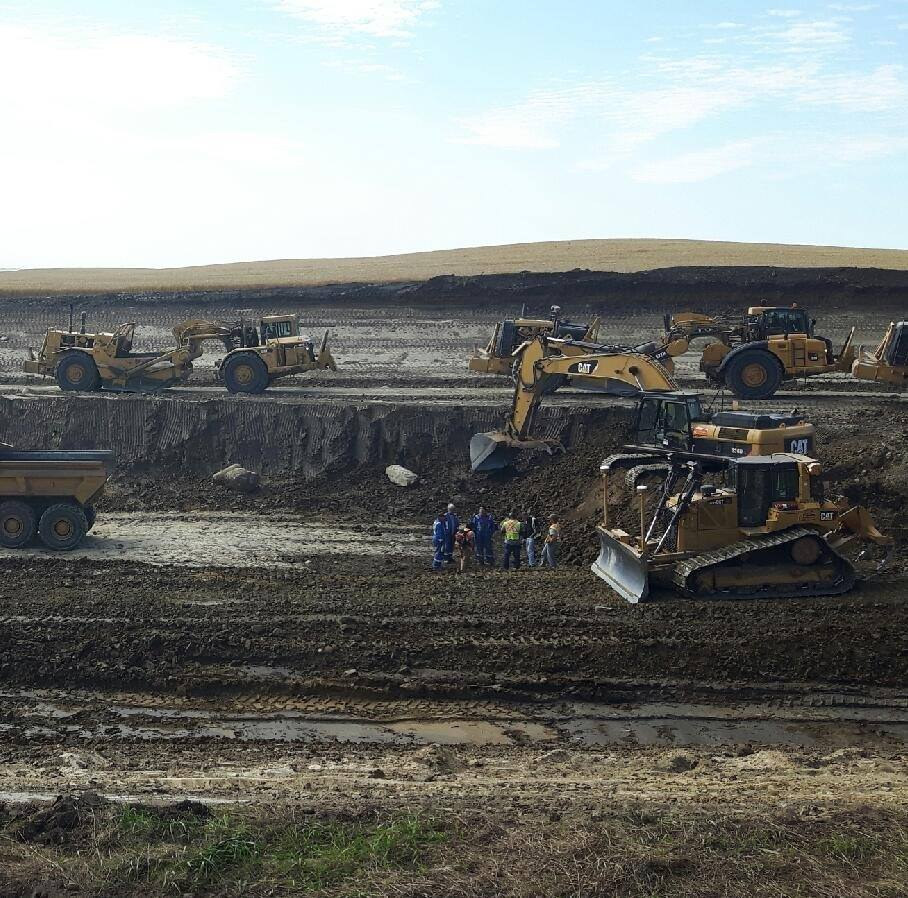 Precision Contractors | Earthworks | About | Twp 522 Equip and Operatrors 2016