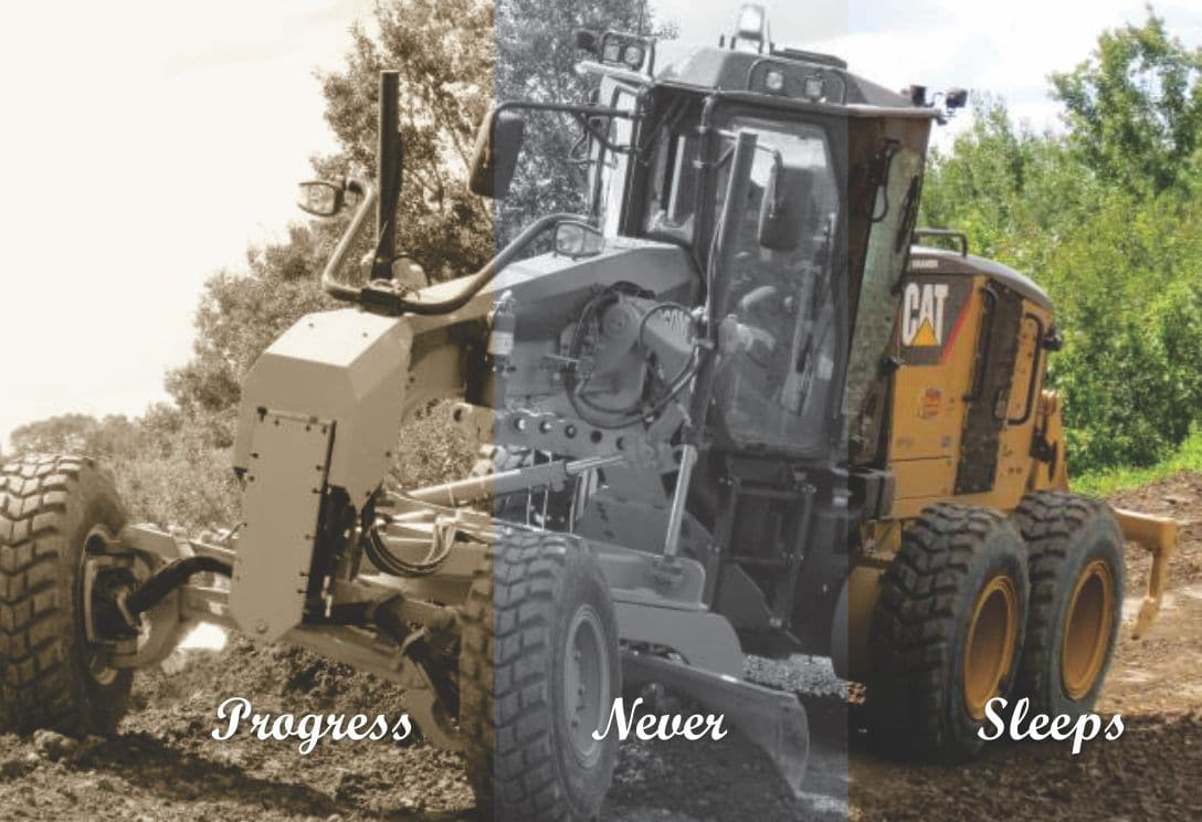Precision Contractors | Earthworks | Home | Progress Never Sleeps
