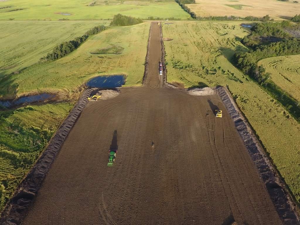 Precision Contractors   Earthworks   Site Reclamation Projects   Summer Reclamation