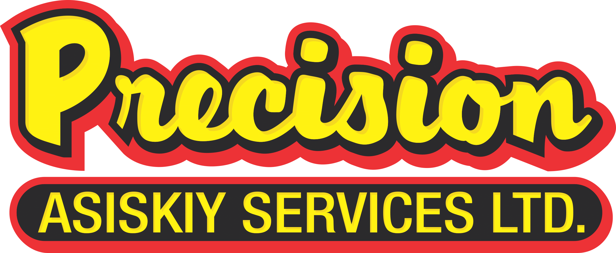 Precision Contractors | Earthworks | Precision Asiskiy Partnership to provide earthwork services for oilfield construction, reclamation, and civil projects | Precision-Asiskiy-Services_Logo-Jan2021